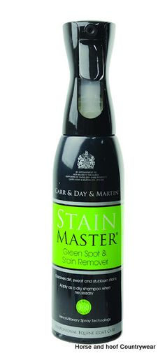 Carr Day Martin Stain Master 600ml Unbeatable for removing dirt and manure stains with no need to rinse Fantastic for last minute touch ups