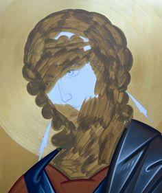Interview with Daniel Neculae – Orthodox Arts Journal Byzantine Icons, Byzantine Art, John The Baptist, Celtic Art, Catholic Art, Realistic Drawings, I Icon, Sacred Art, Best Teacher