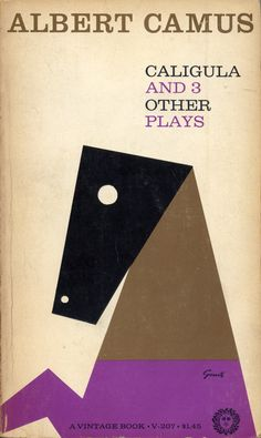 George Giusti rides again. Brilliant cover for 4 plays by Albert Camus.