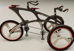 "Cikaric Dragan ""Twin Trike"": My brother found this & it is very cool."