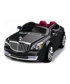 Look at this Black Luxury Car Ride-On on #zulily today!