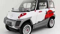 Empresa japonesa mostra veículo elétrico e anfíbio - Carros