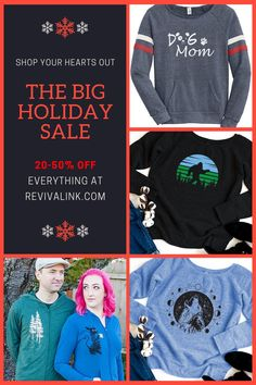 Holiday sale on now! Get 20-50% off everything plus free shipping. Shop unique handmade gifts from a local artist this Holiday Season.  #handmadefashion #handmadeclothing #handmadegifts #handprinted #handdrawn #handcfrafted #makersmovement #shophandmade #buyhandmade  #makersmovement #shopsmall #shopping #onlineshopping #onlineshop #sweatshirts