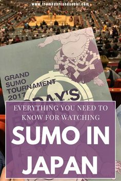 Attending the Grand Sumo Tournament in Japan is a bucket list experience you can't miss! But before you go, you'll want to plan ahead & be prepared for what to expect. Click here for a complete how to guide on everything you need to know about sumo!