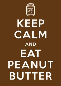 Peanut butter, anyone?