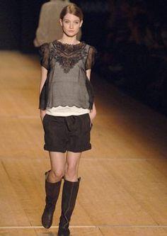 Défilé Isabel Marant Printemps-été 2007 Prêt-à-porter | Le Figaro Madame