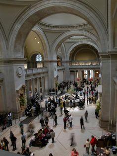 Metropolitan Museum of Art in New York ~ I'd visit ast least once a week if I lived in NY.