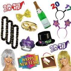 New Year's Eve 2017 Photo Booth Pack