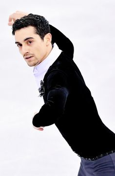 Figure skating photos and Roller Skating, Ice Skating, Figure Skating, Javier Fernandez, Hanyu Yuzuru, Winter Olympics, Olympic Games, Gymnastics, Skate