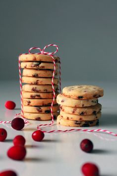 Dried Cranberry Shortbread Cookie | Tasty Kitchen: A Happy Recipe Community!