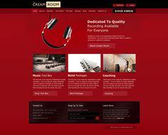 Recording Studio, Website