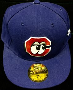 Chatanooga Lookouts MiLB New Era Fitted Cap Size 7 1/2 by CoryCranksOutHats on Etsy