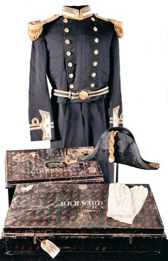 Navy officer full dress blue uniform