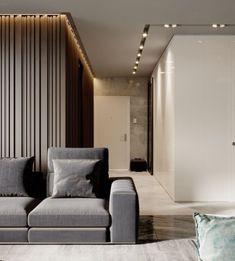 Gorgeous Apartment Ceiling Design Ideas That Inspiring 23 Interior Flat, Lobby Interior, Modern Interior Design, Interior Architecture, Modern Ceiling Design, Interior Ceiling Design, Modern Apartment Decor, Apartment Interior, Apartment Design