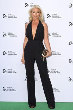 Tamara Beckwith at the Novak Djokovic Foundation Dinner.  #TamaraBeckwith #NovakDjokovic #Djokovic #carpet #redcarpet