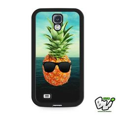 Pineapple Psych Ocean Samsung Galaxy S4 Case