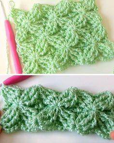 How To Crochet Fantasia Stitch - Tutorial (Beautiful Skills - Crochet Knitting Quilting) Fantasia Stitch This crochet pattern / tutorial is available for free. FREE Everyday Ribbed Crochet Hat Pattern via Easy ribbed pattern for a crocheted hat. Ribbed Crochet, Crochet Motifs, Crochet Stitches Patterns, Tunisian Crochet, Love Crochet, Easy Crochet, Stitch Patterns, Knitting Patterns, Beautiful Crochet