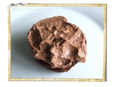 Almond Chocolate Muffin With Chocolate CreamCheese Icing
