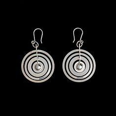 TAPIO WIRKKALA, ÖRHÄNGEN Silvermåne, sterling silver N. Westerback 1971. - Bukowskis Jewelry Design, Drop Earrings, Sterling Silver, Silver, Schmuck, Drop Earring