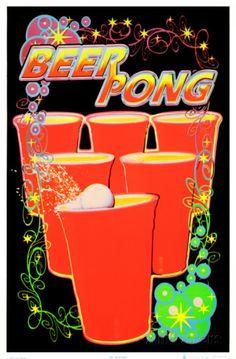 Beer Pong Prints at AllPosters.com
