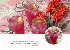 exotic-n-easy cooking: Rose Lemon Mocktail