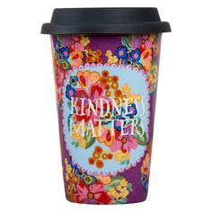 "Natural Life Thermal Mug With ""Kindness Matters"", , large"