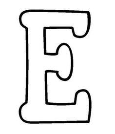 moldes letras grandes para imprimir