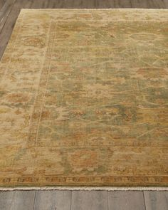 """""""Vegetable Vine"""" Rug  by Safavieh at Horchow."""