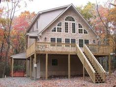 House vacation rental in Lake Harmony Estates, Lake Harmony, Pennsylvania, United States of America from VRBO.com! #vacation #rental #travel #vrbo