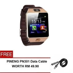 Buy Smart Watch Super DZ09 with Phone/Camera/Bluetooth/MMC-FREE Pineng PN301 Cable 2in1 online at Lazada. Discount prices and promotional sale on all. Free Shipping.