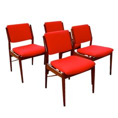 Danish Modern Chair Set Of 4 sold by City Foundry