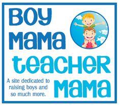 Boy Mama Teacher Mama