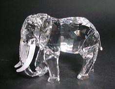 Swarovski SWAROVSKI ANNUAL EDITION 1993 ELEPHANT (African) 169970 - DESIGNER SIGNED | Swarovski Crystal