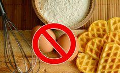 Découvrez la recette de la pâte à gaufre sans œufs idéale pour les personnes allergiques aux oeufs ou tout simplement en cas de pénurie d'oeuf dans son frigo...