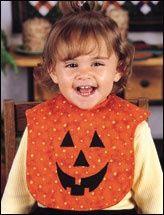 Babero especial para halloween!