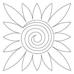 ~ Sunflower Block - Digital NM-SF-BLK_DIGITAL