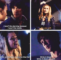 Bellarke, Bellamy, Clarke, the 100, tumblr, 4x03