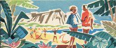 United Airlines Hawaii 1959 by hmdavid, via Flickr