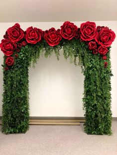 Red Wedding Decorations, Backdrop Decorations, Backdrops, Red Rose Wedding, Our Wedding, Tent Wedding, Gothic Wedding, Glamorous Wedding, Red Wedding Receptions