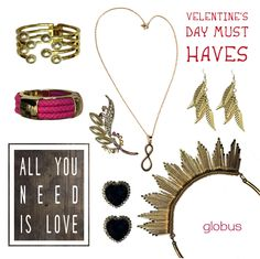 Love is in the air!!! #valentinesday is around the corner. Check out the globus accessories in store