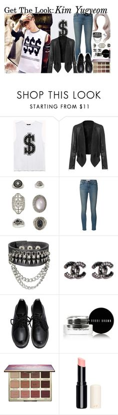 """""""♡Just stay♡the way you are♡oh♡the way you are♡oh♡the way you are♡oh oh oh♡that's all I need♡"""" by triple-threat36 ❤ liked on Polyvore featuring Forever 21, Topshop, Frame, Bobbi Brown Cosmetics, tarte, GOT7, yugyeom, kimyugyeom and IGOT7"""