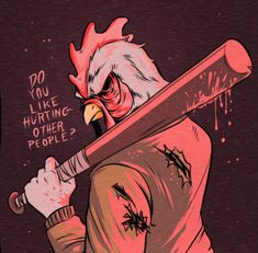 Do you like hurting other people? | Hotline Miami