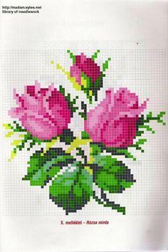Cross Stitch Bird, Beaded Cross Stitch, Simple Cross Stitch, Cross Stitch Flowers, Cross Stitch Embroidery, Hand Embroidery Patterns Free, Christmas Embroidery Patterns, Simple Embroidery, Modern Cross Stitch Patterns
