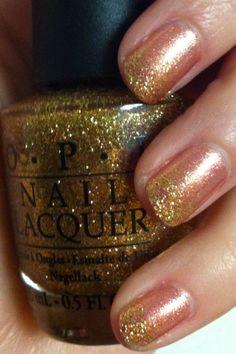 Sparkle gradient nails