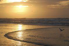 sunset at Zandvoort