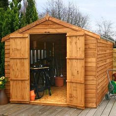Found it at Wayfair.co.uk - 6 x 8 Wooden Storage Shed