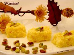 kalakand with ricotta cheese