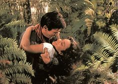 Gregory Peck and Jennifer Jones in Duel in the Sun. Description from…