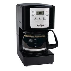 Coffee Advanced Brew Programmable Maker Black/Chrome for sale online 5 Cup Coffee Maker, Best Drip Coffee Maker, Coffee Maker Reviews, French Press Coffee Maker, Coffee Brewer, Espresso Maker, Real Coffee, Coffee Type, Coffee Filter Types