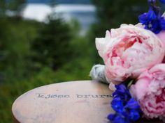 Photograph from my wedding in the north of Norway in August 2013. Photograph by me.